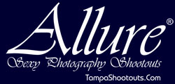 Allure Sexy Photography Shootouts. Provocative swimsuit, glamour, boudoir, lingerie, and sexy modeling. 18 and over.
